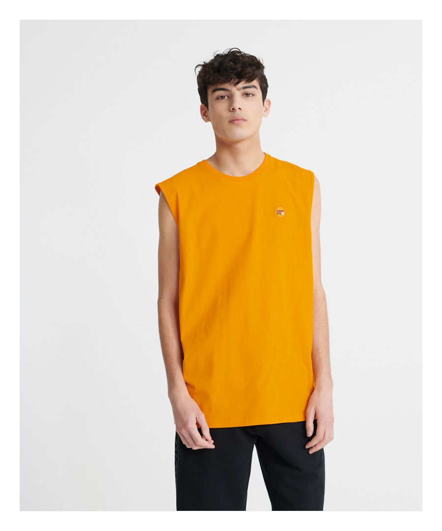 Image for Superdry Organic Cotton Collective Oversized Vest Top