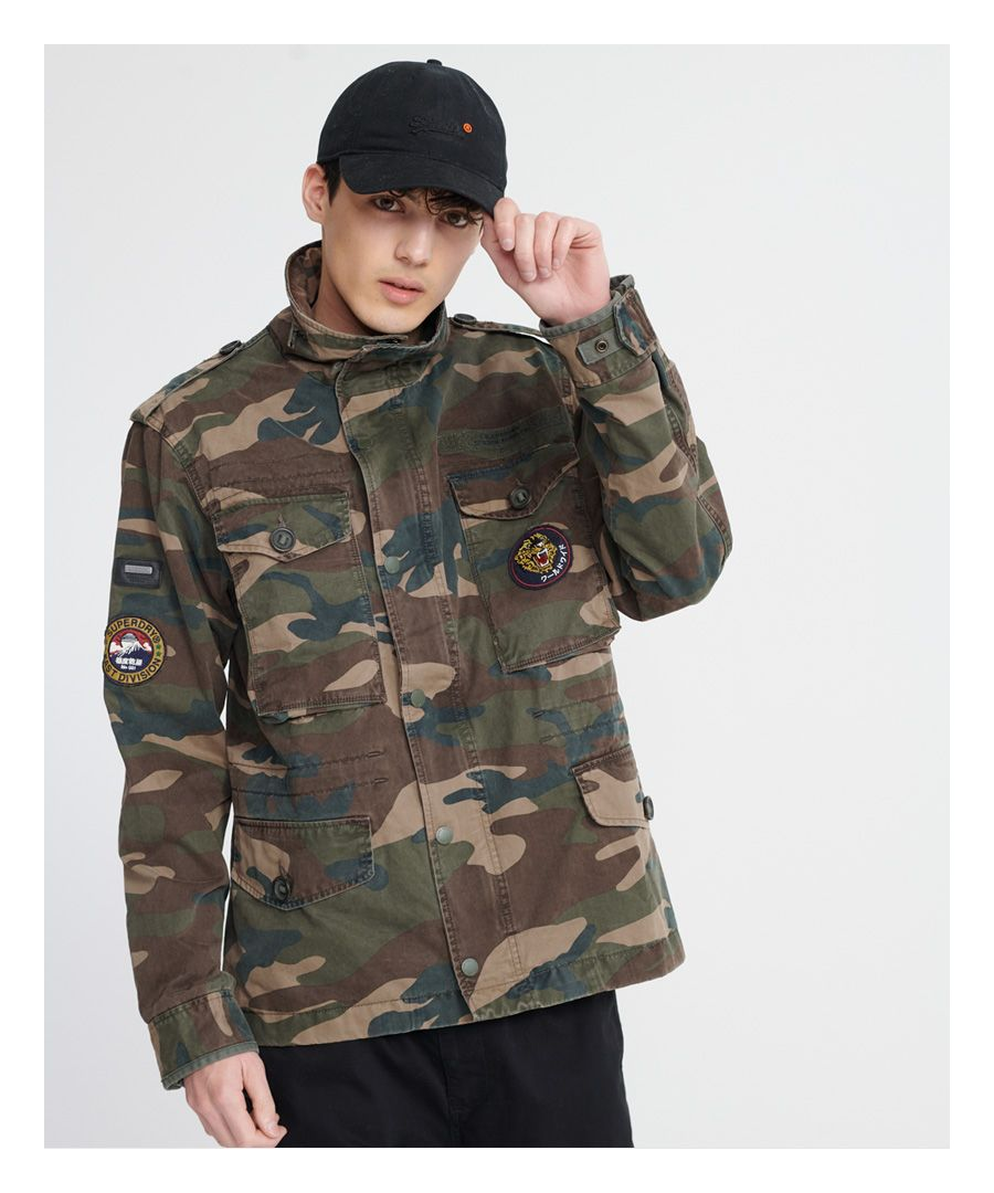 Image for Superdry Patched Field Jacket