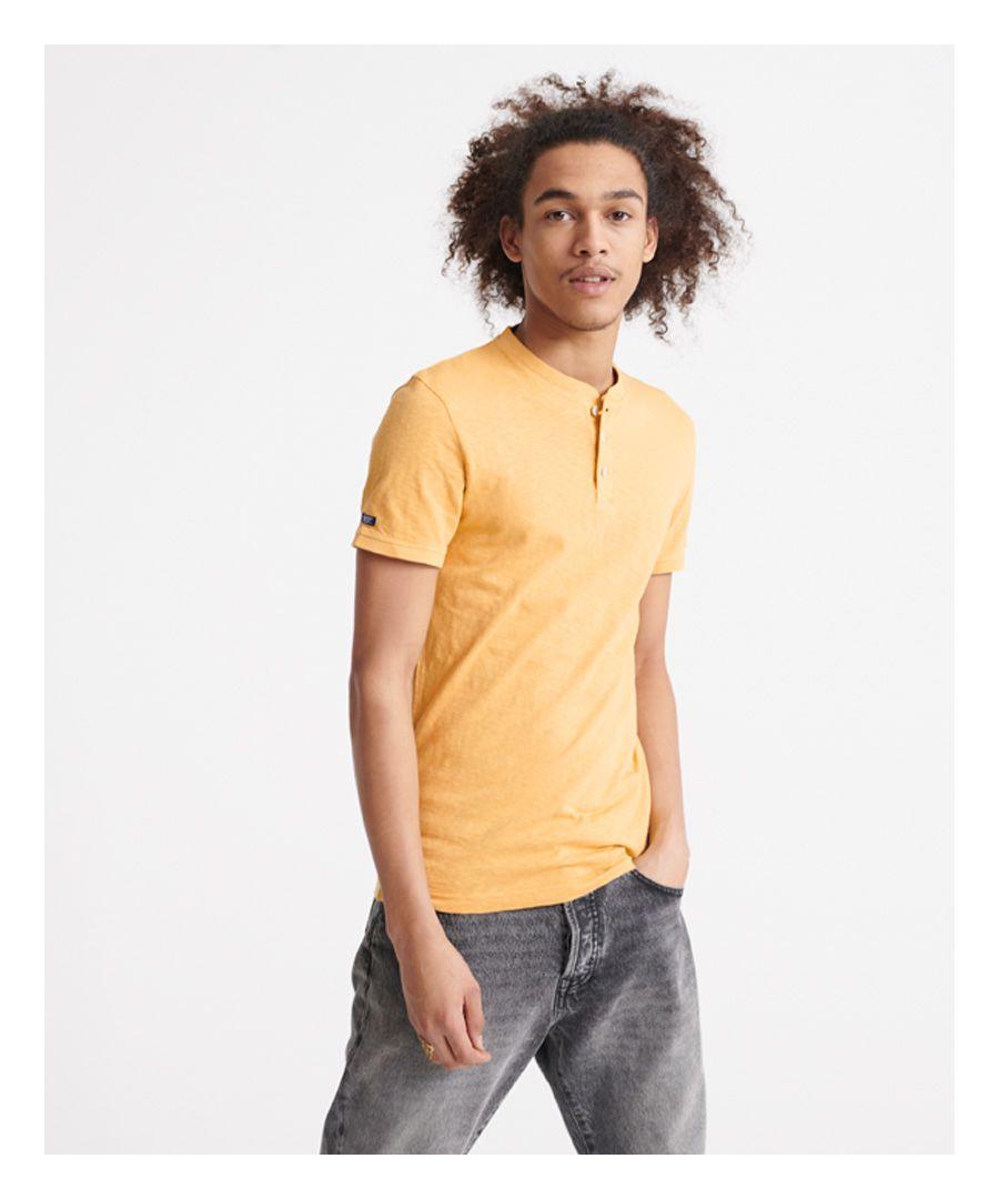 Image for Superdry Heritage Short sleeve Henley T-Shirt