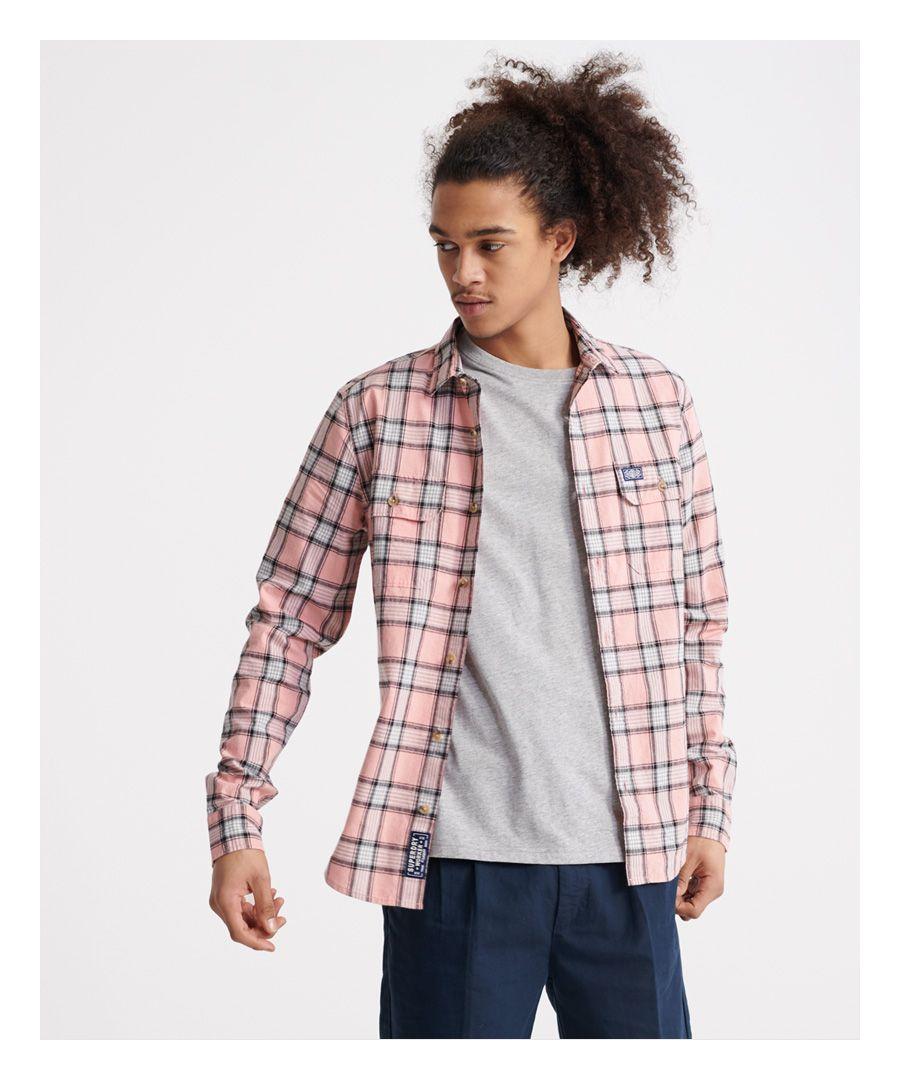 Image for Superdry Merchant Milled Lite Long Sleeved Shirt