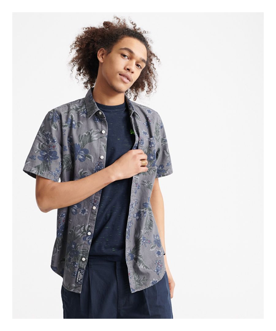Image for Superdry Miami Loom Short Sleeve Shirt