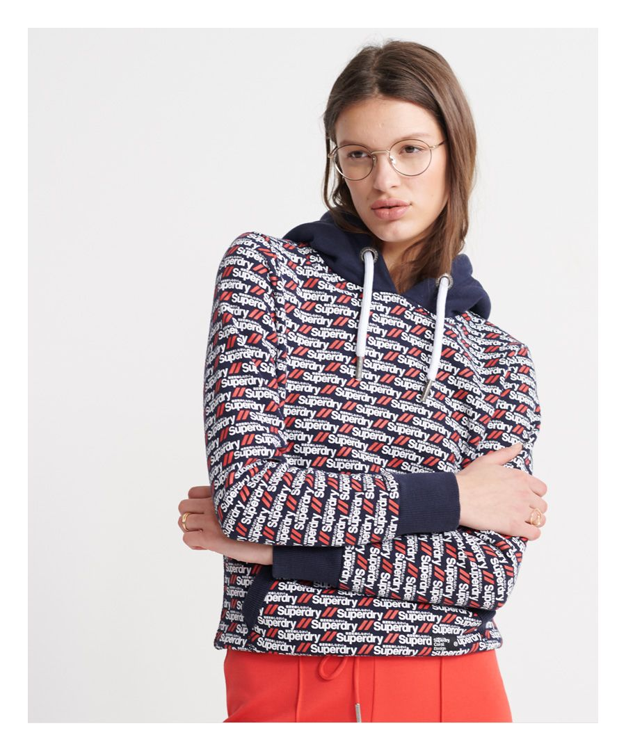 Image for Superdry Coral Design Ultra Hoodie