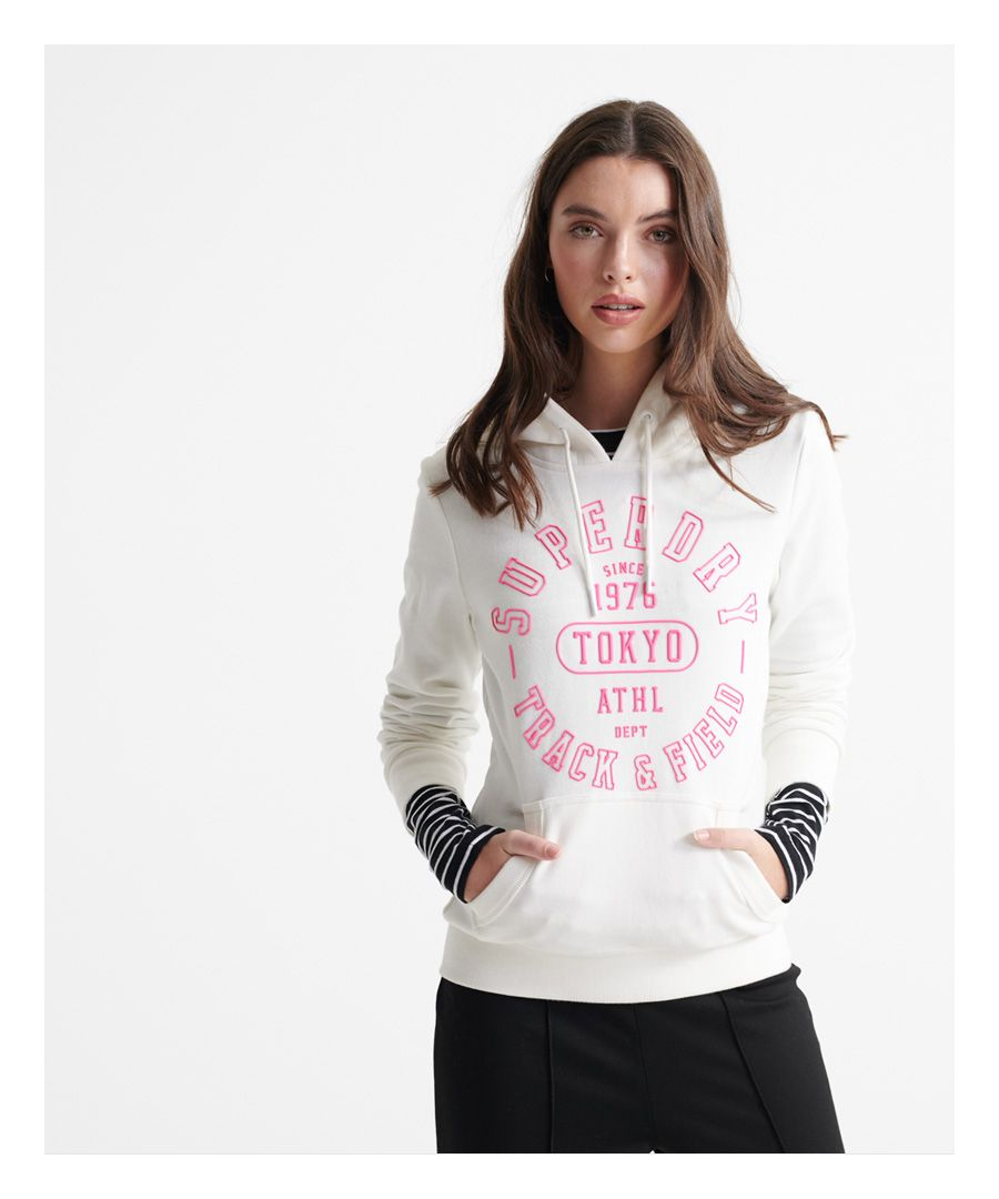 Image for Superdry Track & Field Loopback Hoodie
