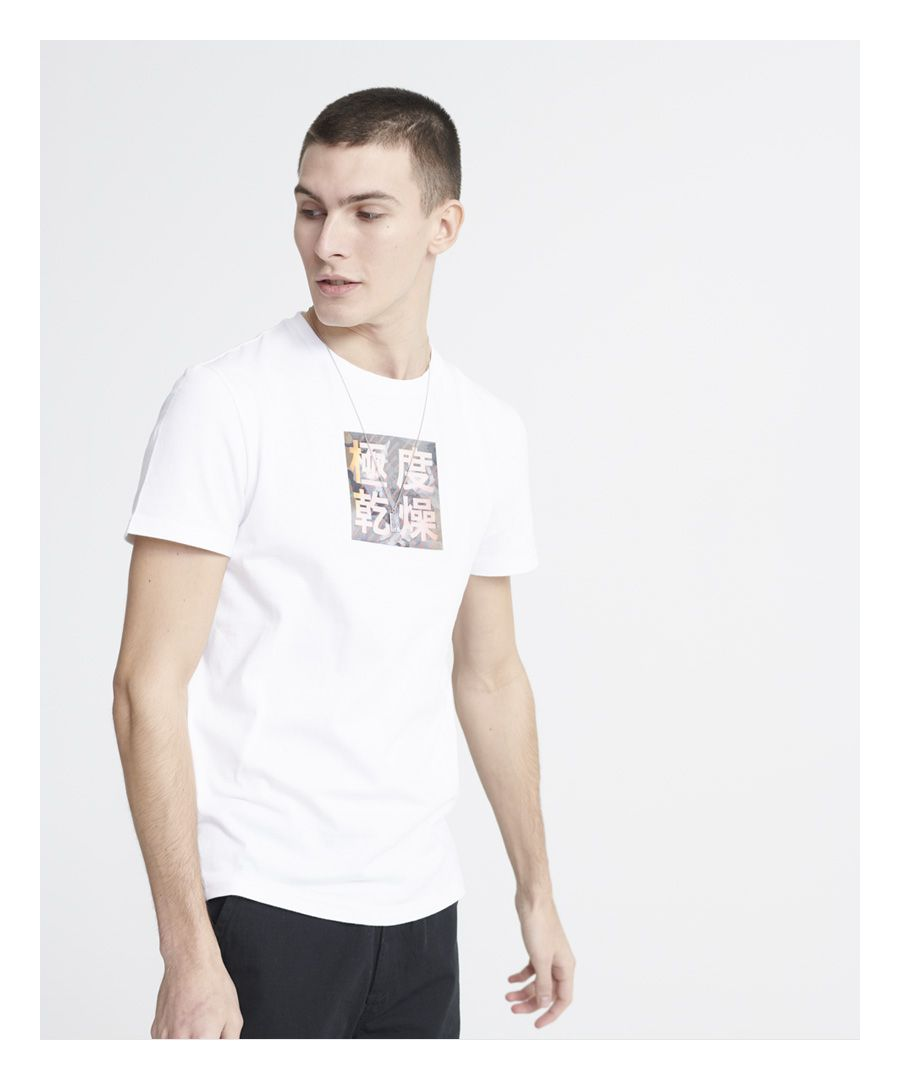 Image for Superdry Stacked Kanji T-Shirt