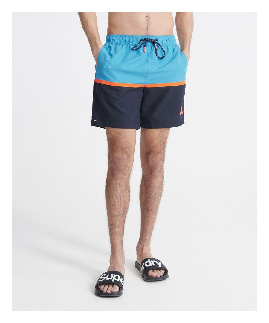 Image for Superdry Colour Block Swim Shorts