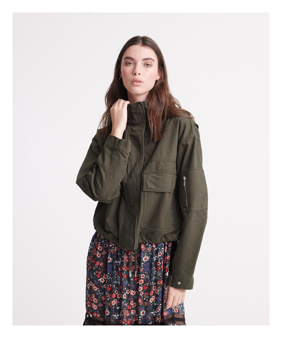 Image for Superdry Bora Cropped Jacket