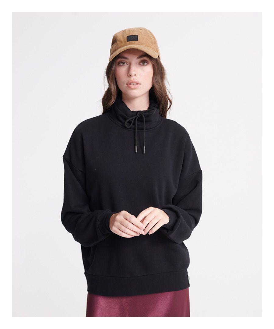 Image for Superdry City Funnel Neck Loopback Sweatshirt