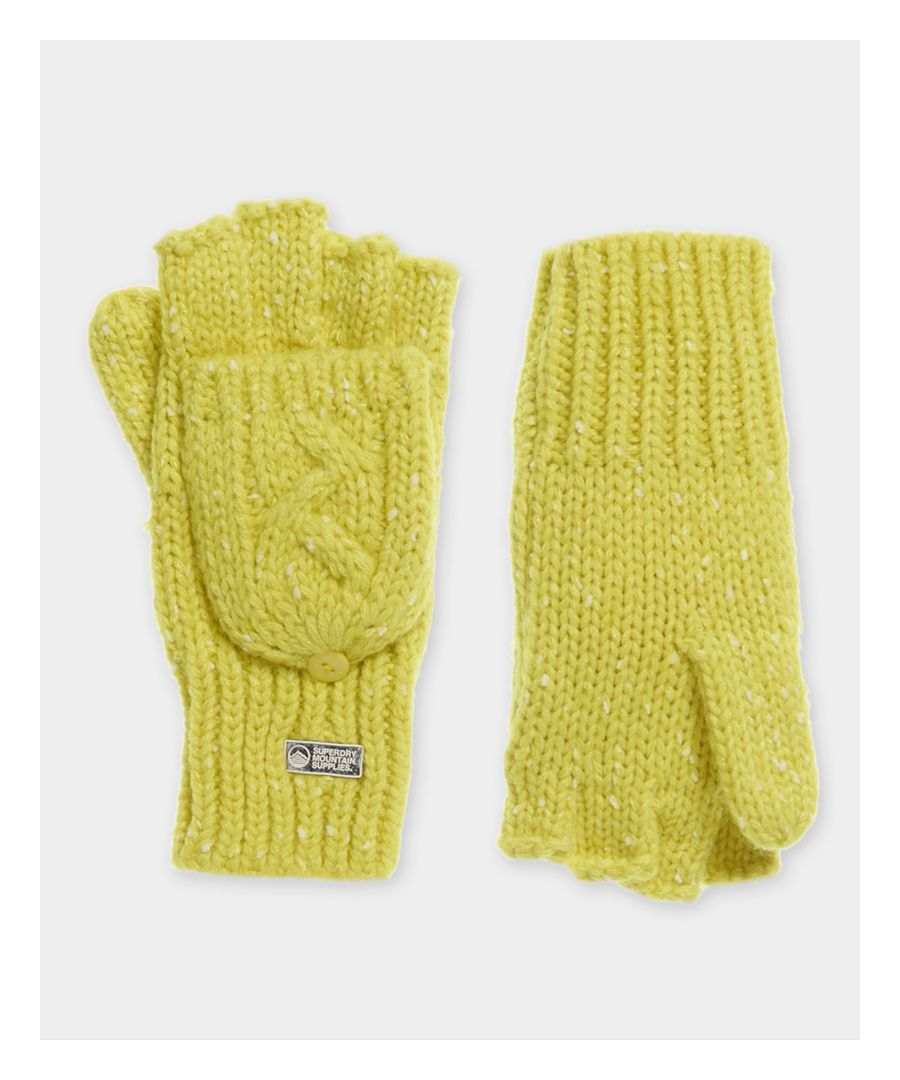 Image for Superdry Gracie Cable Gloves