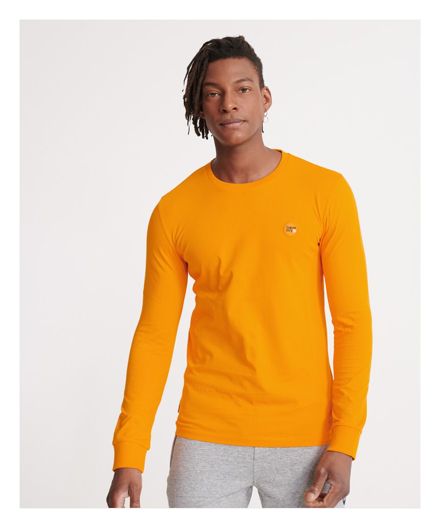 Image for Superdry Organic Cotton Collective Long Sleeved Top
