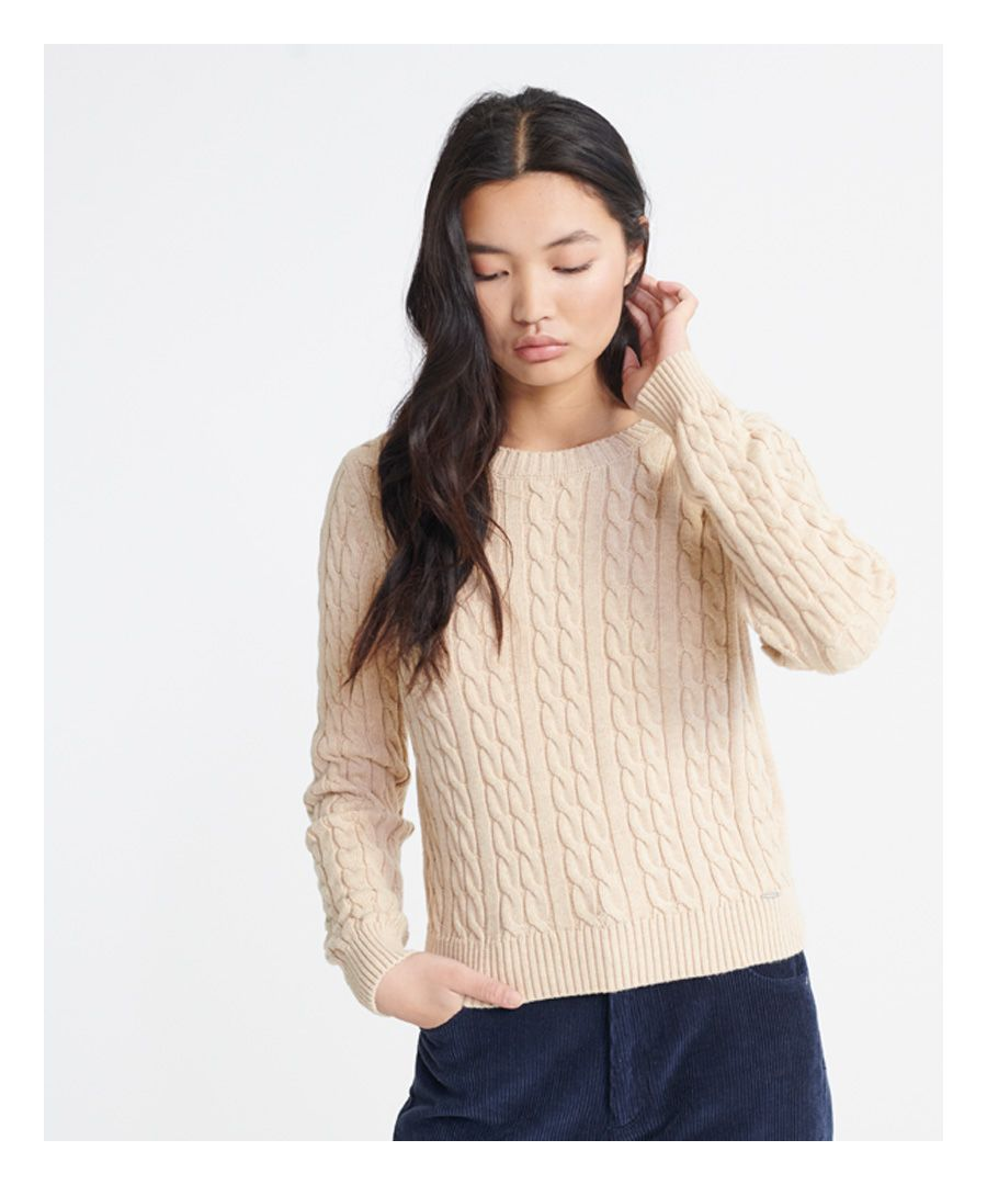 Image for Superdry Becky Cable Knit Jumper