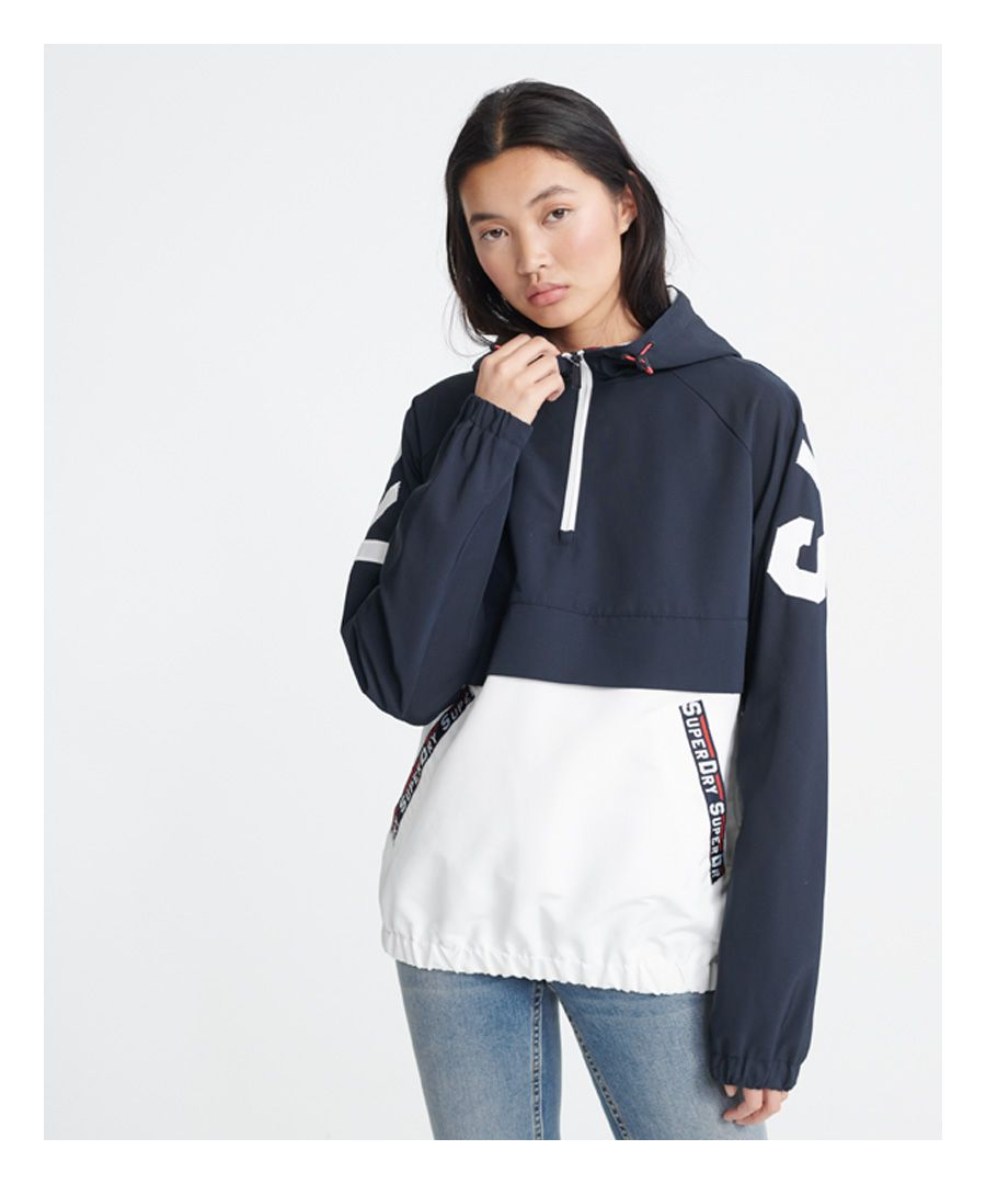 Image for Superdry Colour Block Overhead Jacket