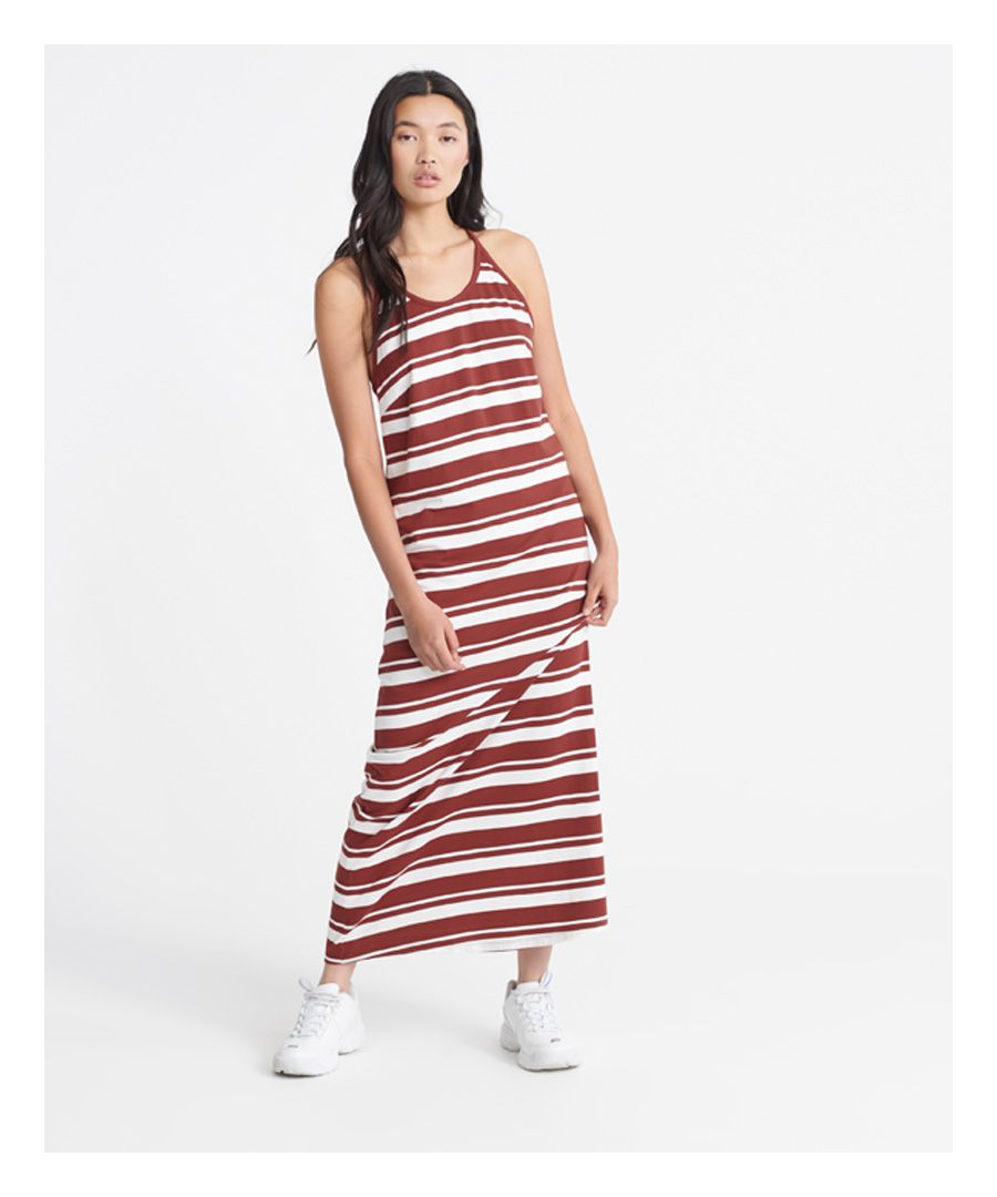 Image for Superdry Summer Stripe Maxi Dress
