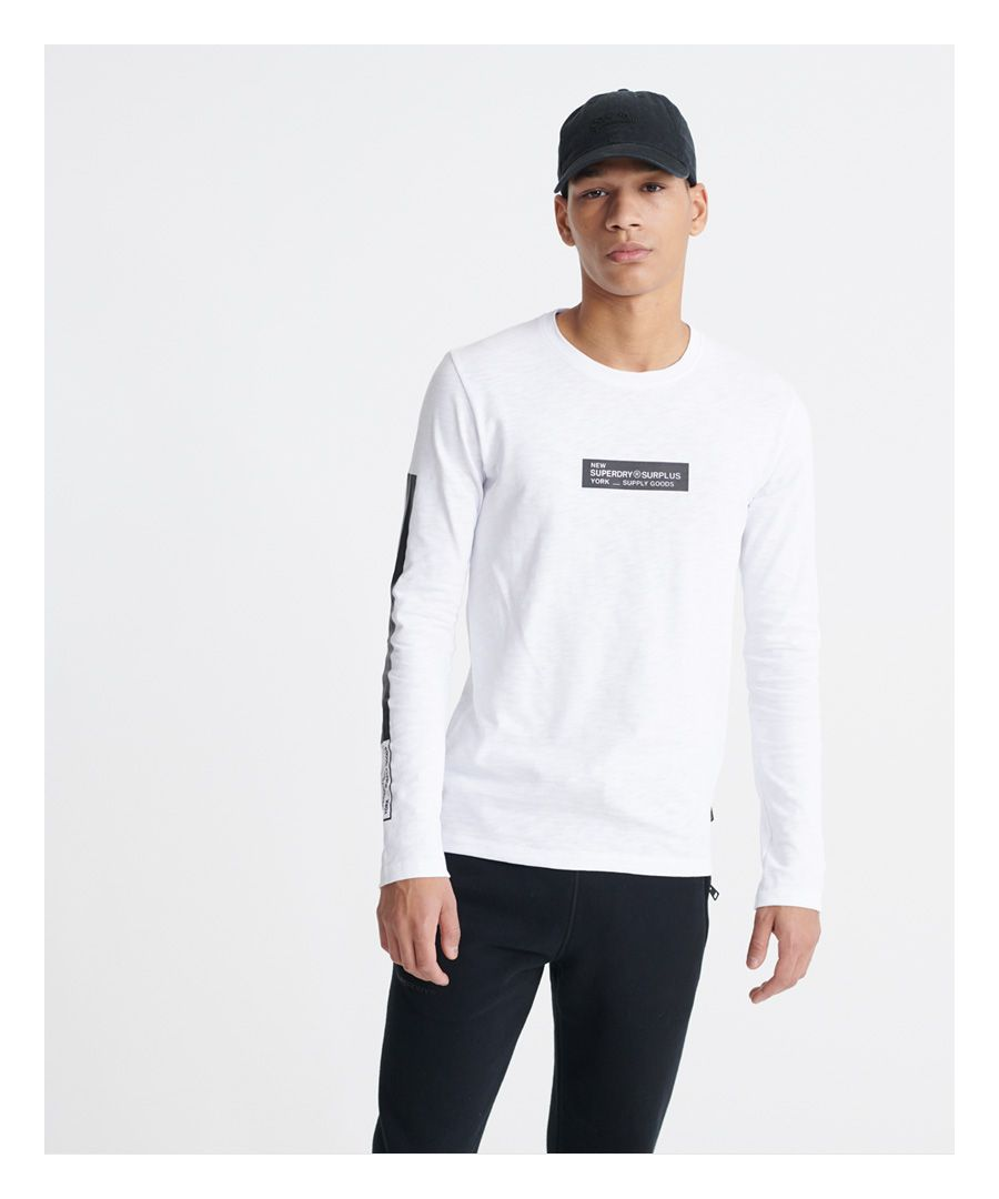 Image for Superdry Surplus Goods Long Sleeved Top