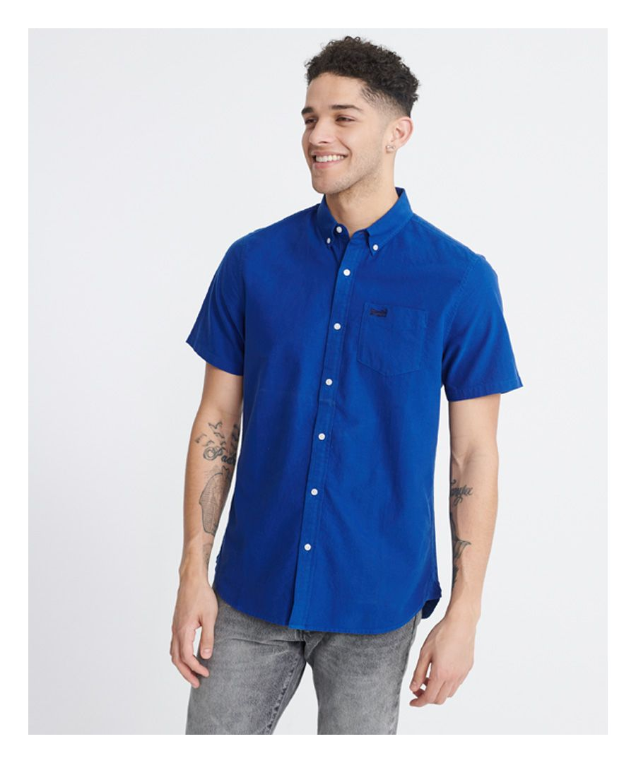 Image for Superdry Classic University Oxford Short Sleeved Shirt