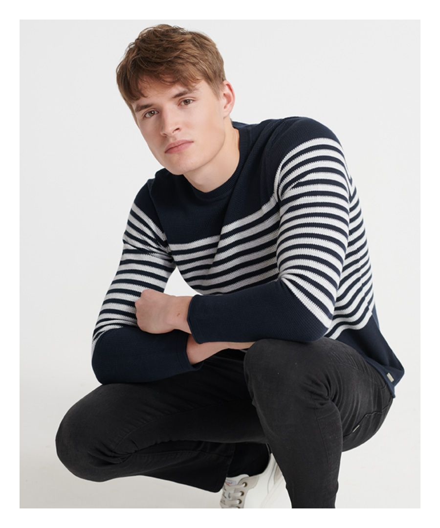 Image for Superdry Edit Supima Breton Jumper