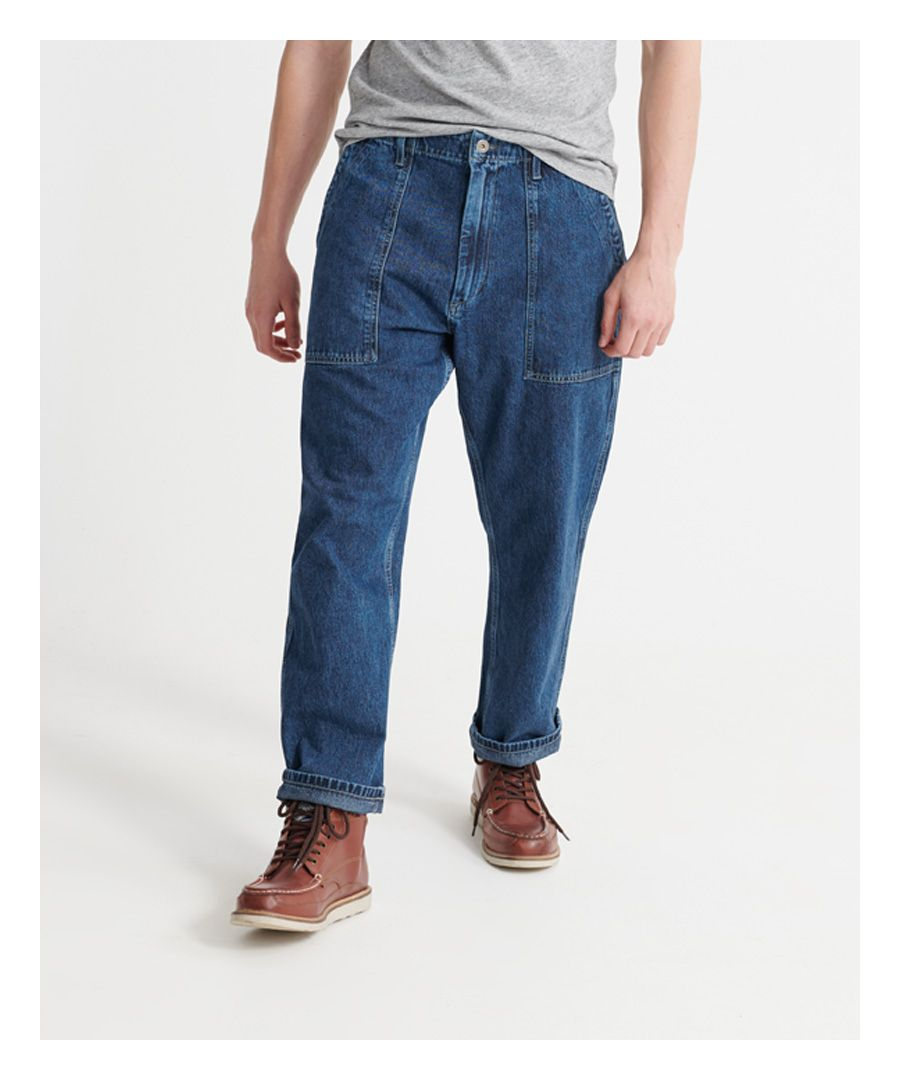 Image for Superdry Lionel Easy Fatigue Jeans