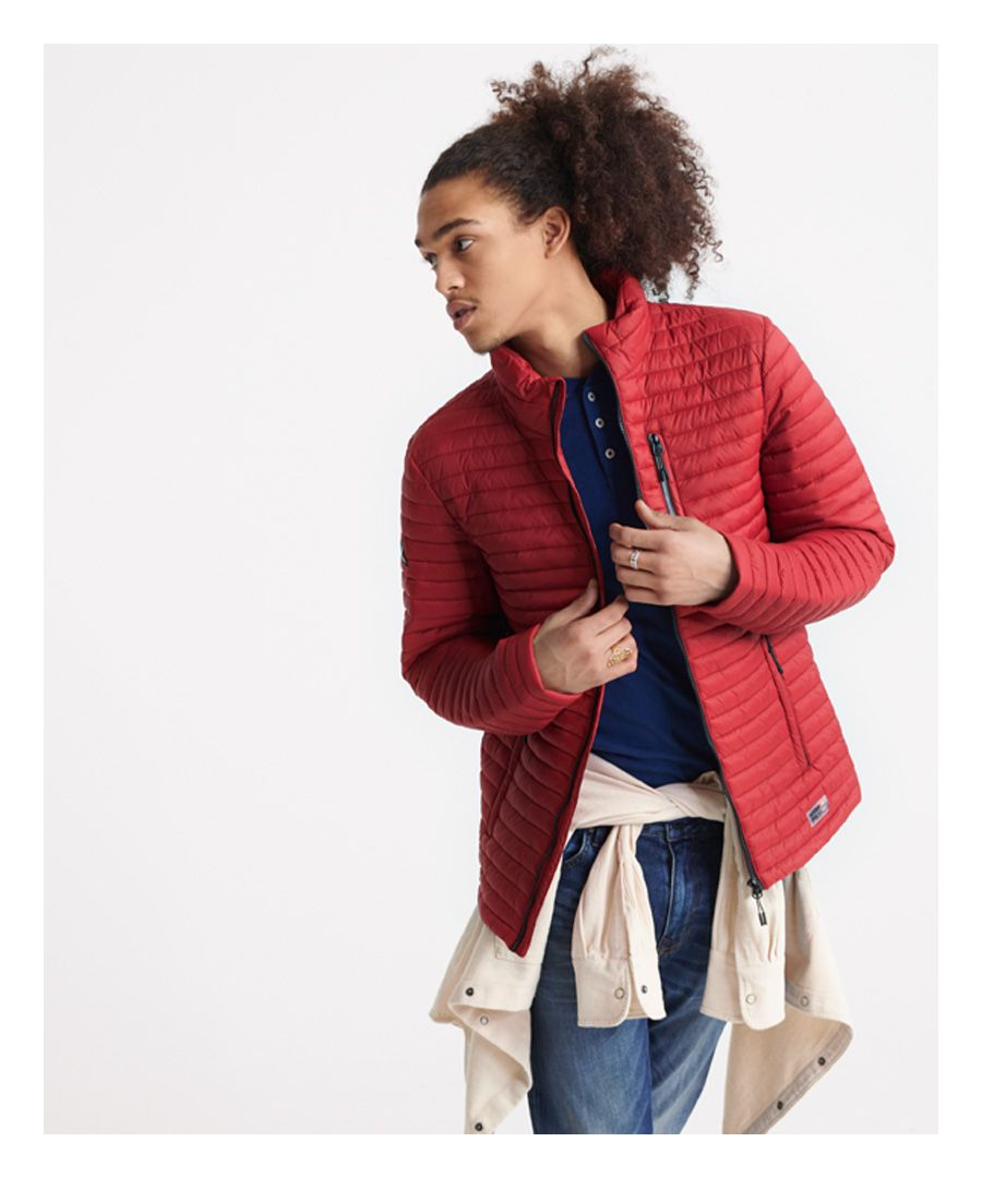 Image for Superdry Micro Quilt Packaway Fuji Jacket