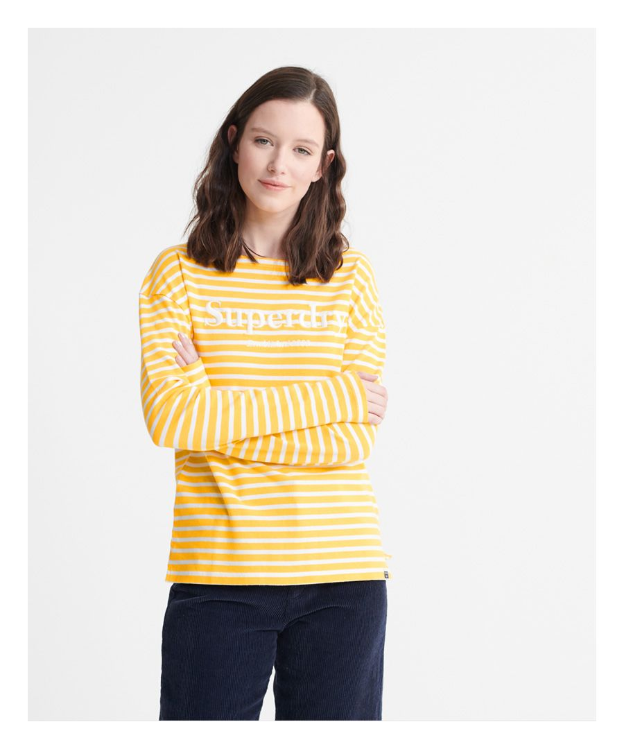 Image for Superdry Blair Stripe Top