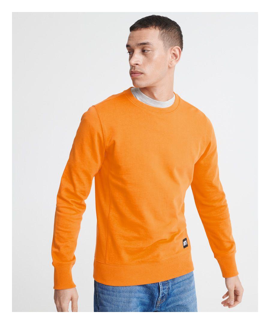 Image for Superdry City Neon Crew Loopback Sweatshirt