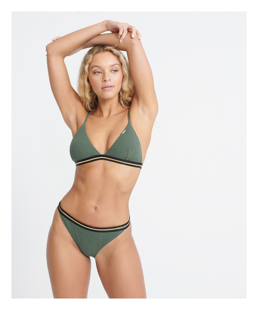 Image for Superdry Sahara Fixed Tri Bikini Top