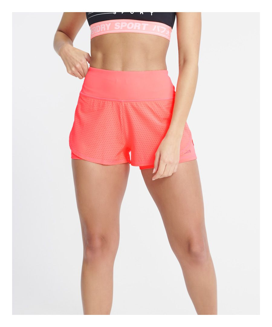 Image for Superdry Training Lightweight Double Layer Shorts