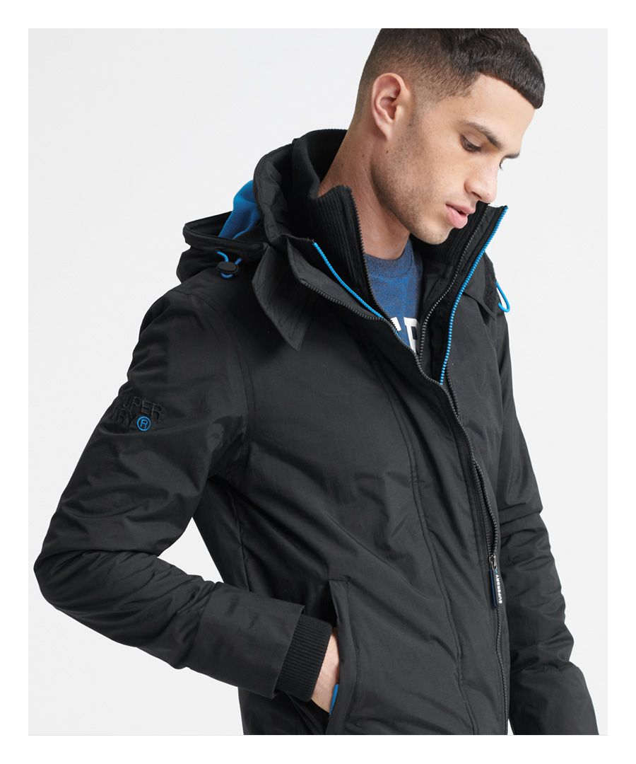 Image for Superdry Pop Zip Arctic Hooded SD-Windcheater Jacket