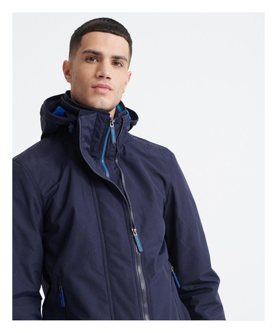 Image for Superdry Tech Hood Pop Zip SD-Windcheater Jacket
