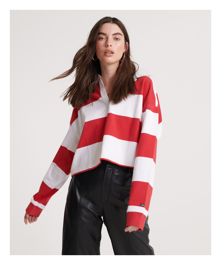 Image for Superdry Organic Cotton Edit Rugby Top