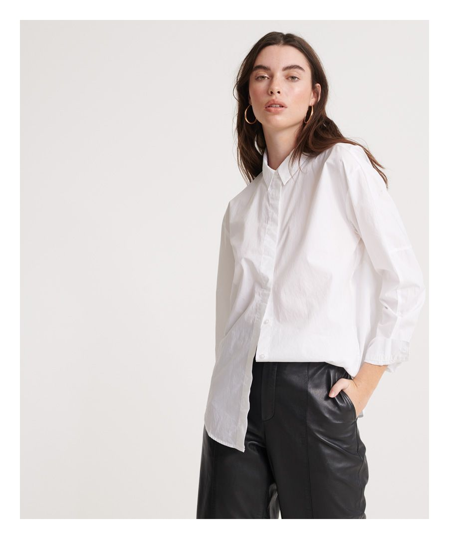 Image for Superdry Edit White Shirt
