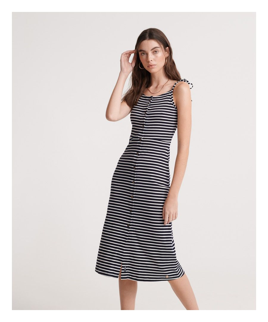Image for Superdry Charlotte Button Down Dress