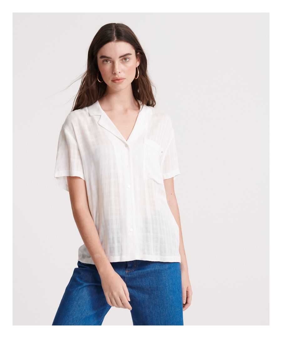 Image for Superdry Fleur Resort Shirt