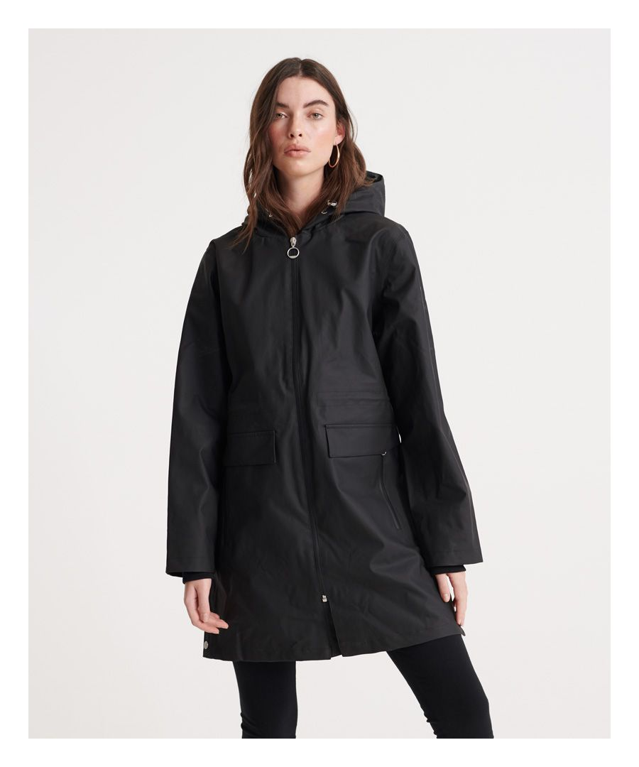 Image for Superdry Essentials Hydrotech Mac Coat