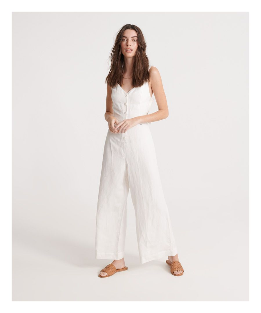 Image for Superdry Eden Linen Jumpsuit