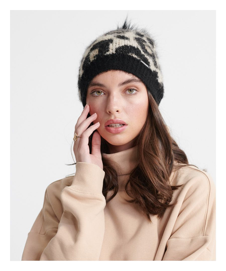 Image for Superdry Lisa Leopard Beanie