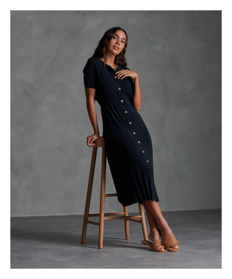 Image for Superdry Tilly Knit Midi Dress