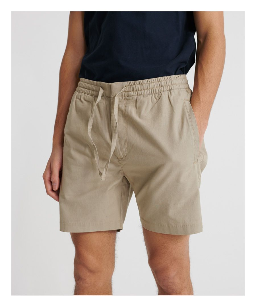 Image for Superdry Edit Taper Drawstring Shorts