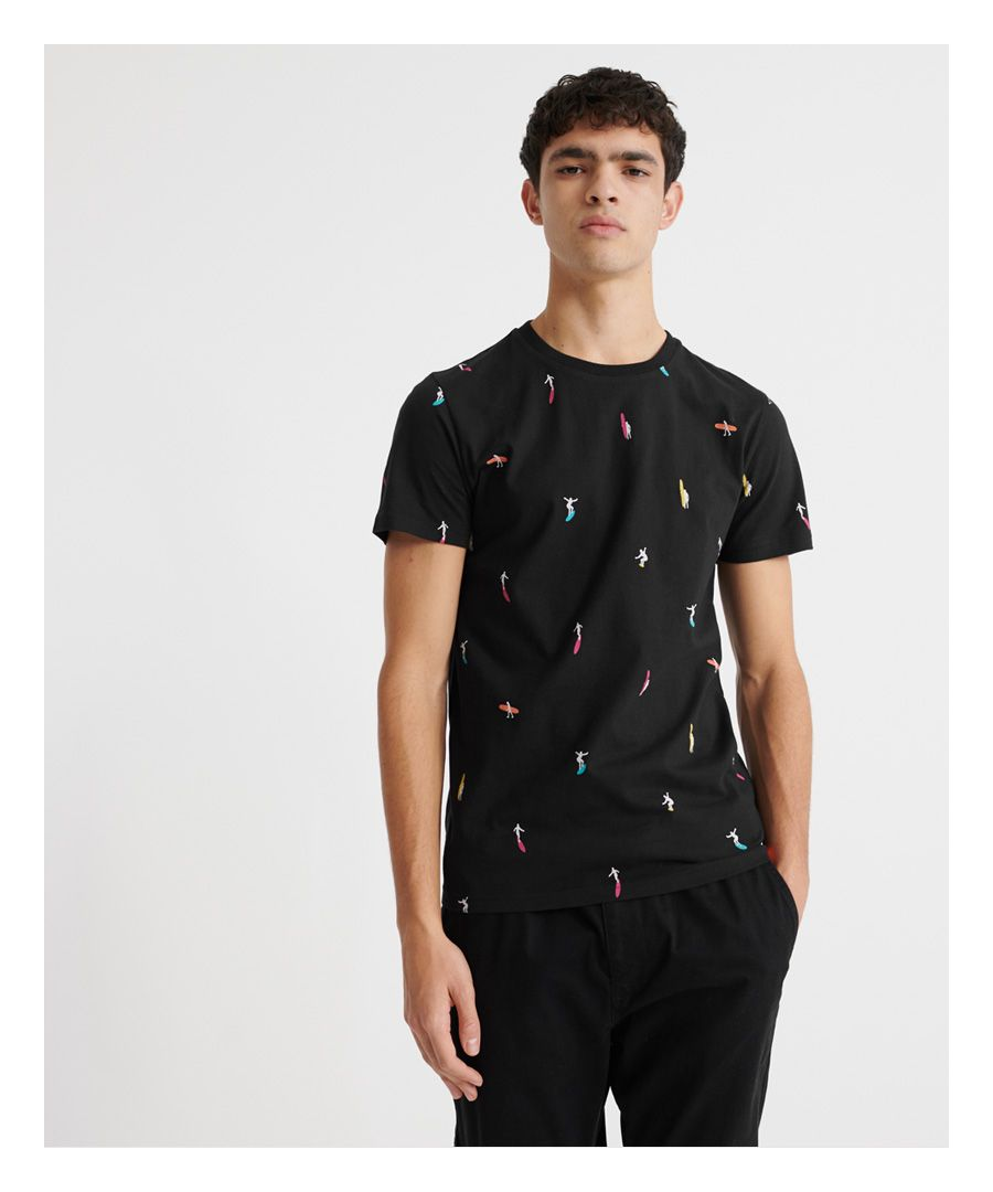 Image for Superdry Organic Cotton All Over Print T-Shirt