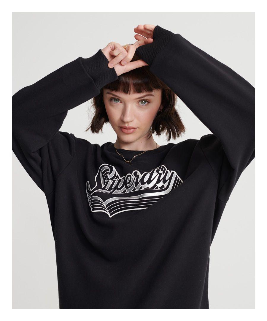 Image for Superdry Mono Shadow Crew Sweatshirt