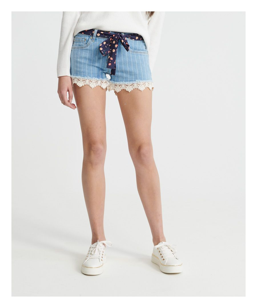 Image for Superdry Lace Hot Shorts
