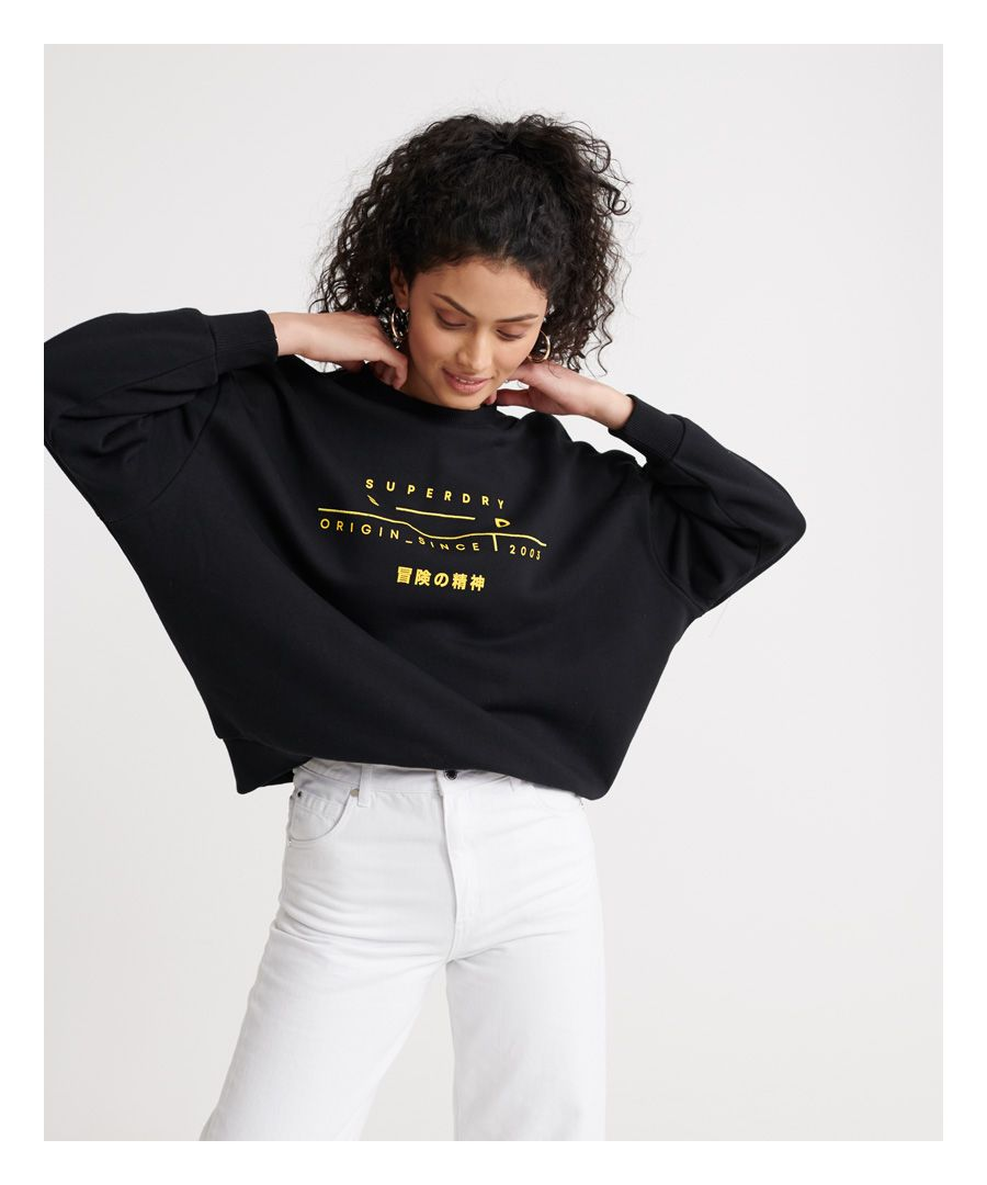 Image for Superdry Slouchy Coded Loopback Sweatshirt