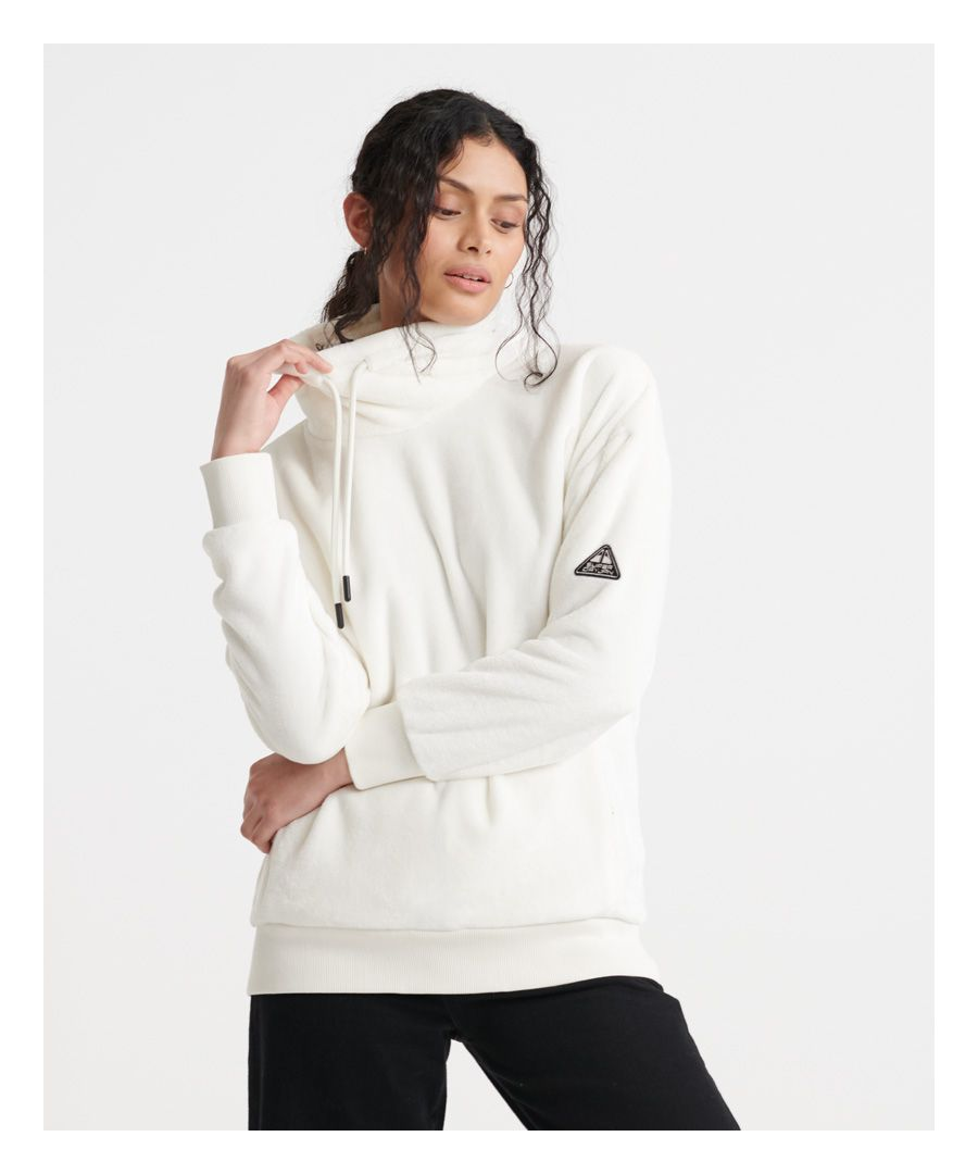 Image for Superdry Storm Plush Overhead Track Top
