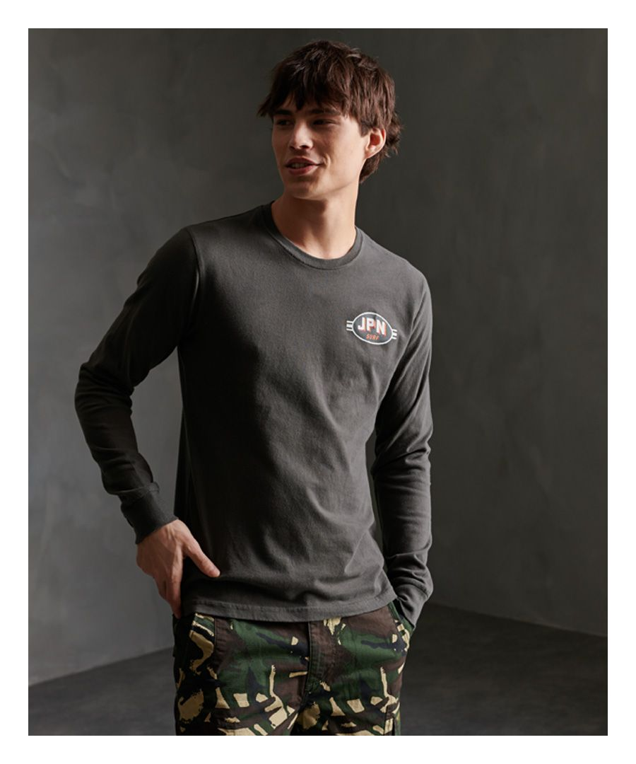 Image for Superdry Shapers N Makers Long Sleeved Top