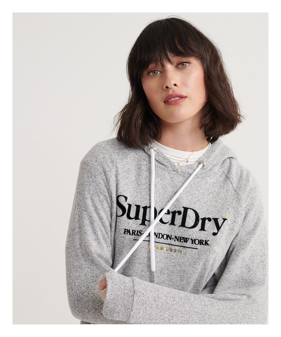 Image for Superdry Super Soft Graphic Hoodie