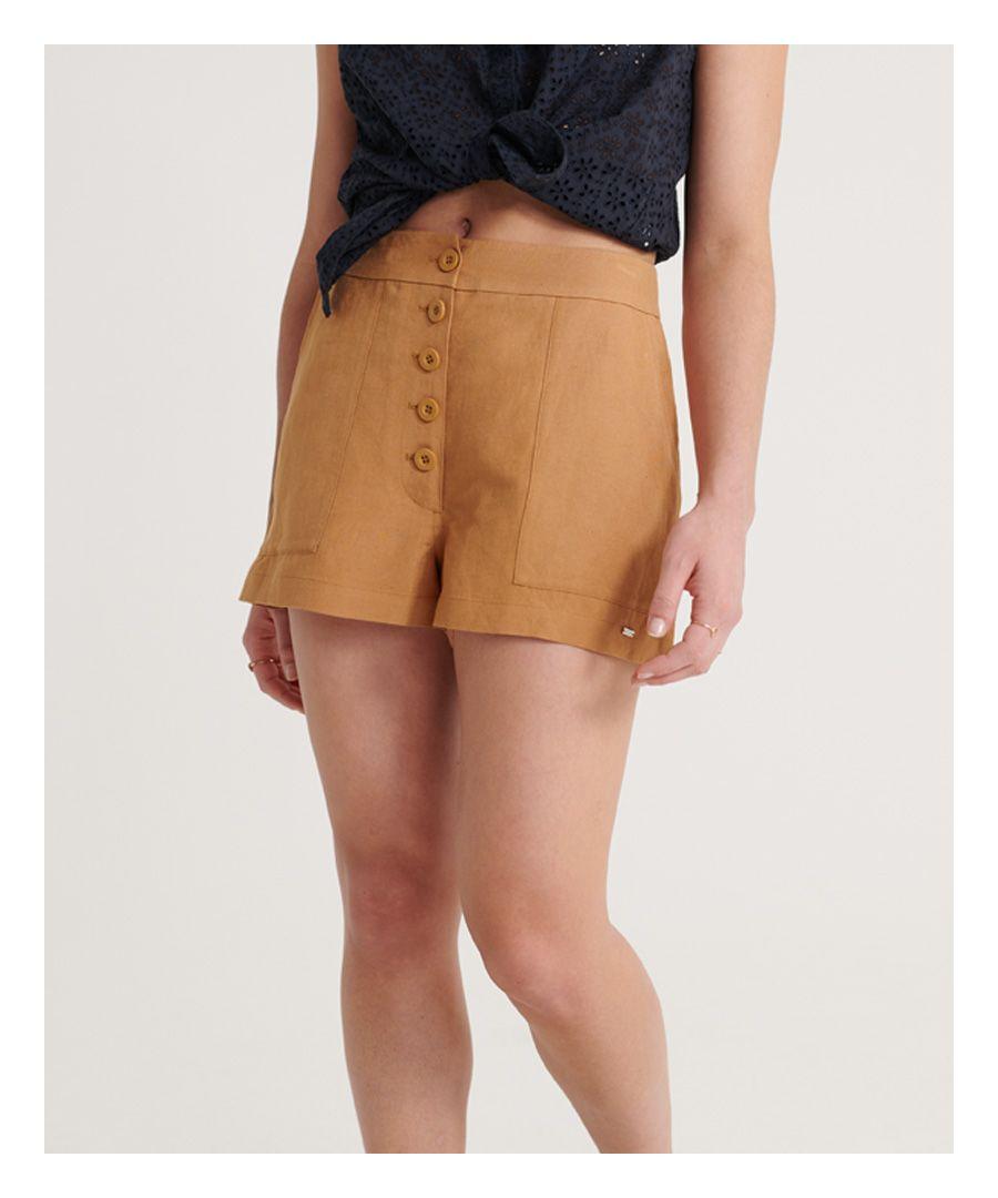 Image for Superdry Eden Linen Shorts