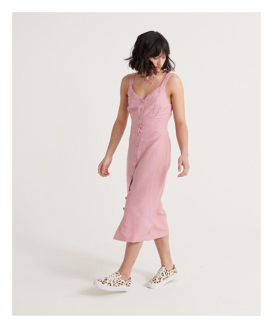 Image for Superdry Eden Linen Dress