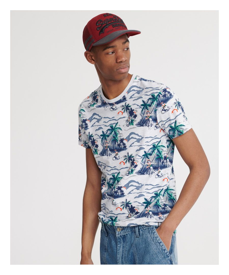 Image for Superdry All Over Print Floral T-Shirt