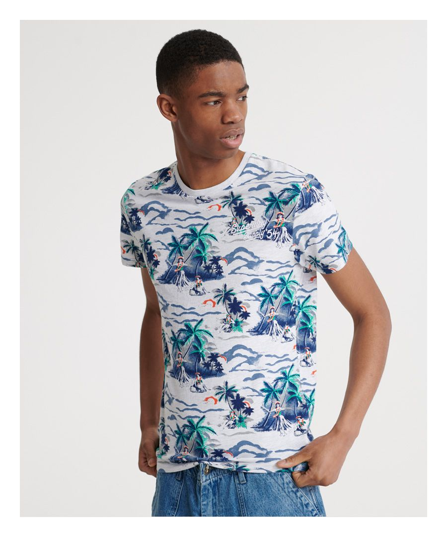 Image for Superdry All Over Print Supply T-Shirt