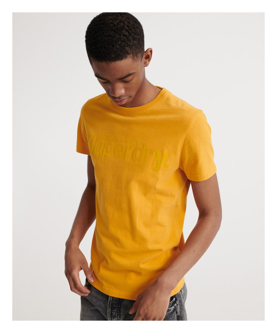 Image for Superdry Core Faux Suede T-Shirt