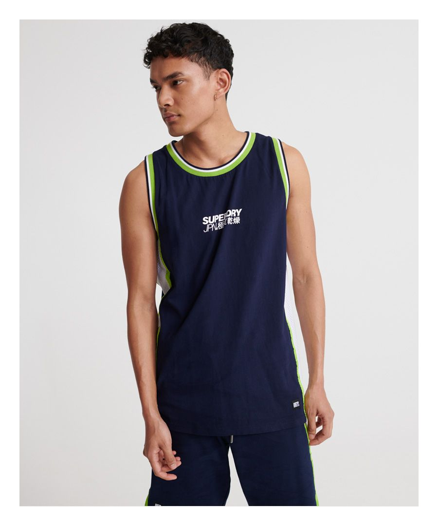 Image for Superdry Future Mascot Airtex Vest Top