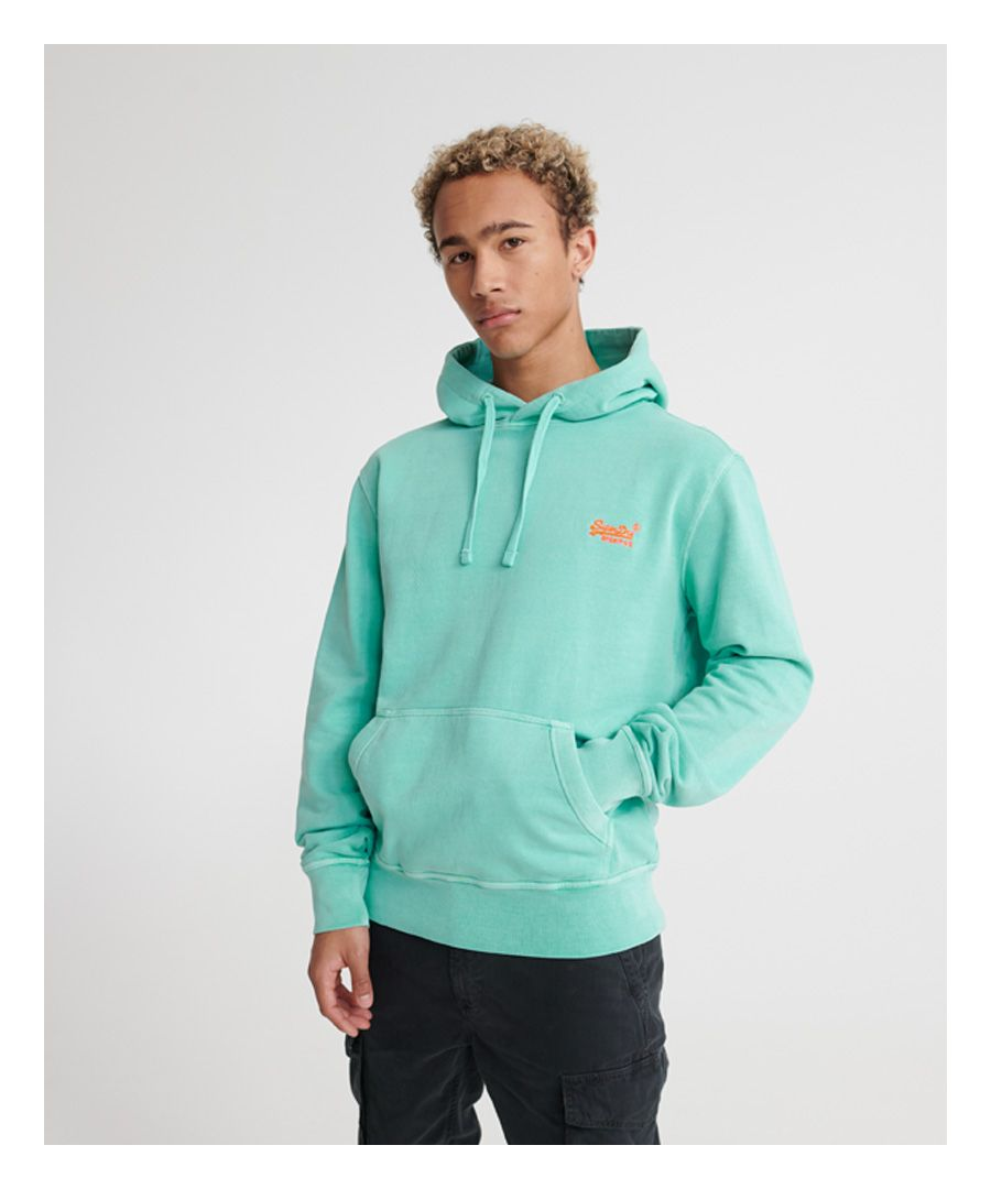 Image for Superdry Orange Label Pastelline Loopback Hoodie